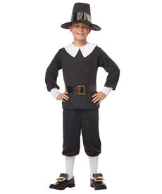 California Costumes Kids Pilgrim Boy Costume