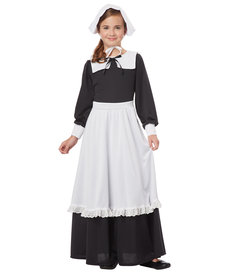 California Costumes Kids Pilgrim Girl Costume