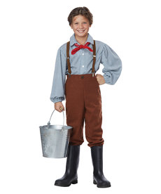 California Costumes Kids Pioneer Boy Costume