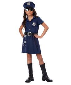 California Costumes Kids Girl's Police Officer Costume