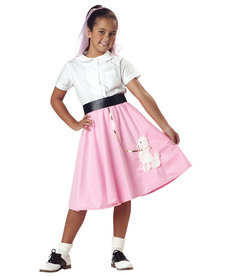 California Costumes Kids Poodle Skirt