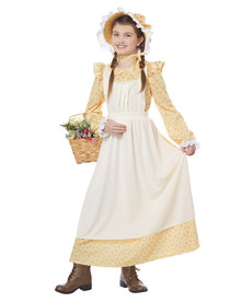 California Costumes Kids Prairie Girl Costume