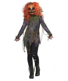 California Costumes Kids Pumpkin Monster Girl Costume