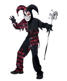 California Costumes Boy's Sinister Jester Costume