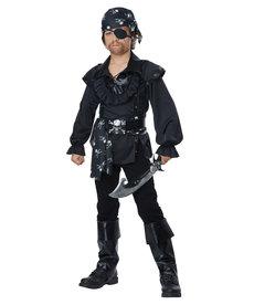 California Costumes Kids Skull Island Pirate Costume