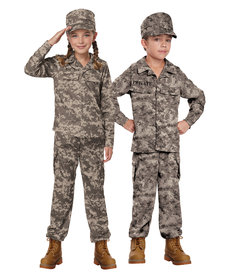California Costumes Kids Soldier Costume