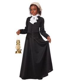 California Costumes Kids Susan B. Anthony / Harriet Tubman Costume