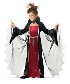 California Costumes Kids Vampire Girl Costume