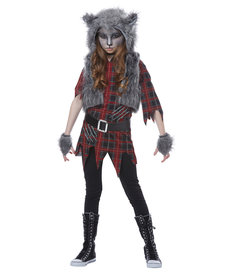 California Costumes Kids Werewolf Girl Costume