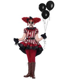 California Costumes Kids Wicked Klown Costume