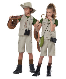 California Costumes Kids Wildlife Expert / Archaeologist Costume