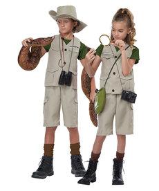 California Costumes Kids Wildlife Expert / Archaeologist Costume