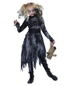 California Costumes Kids Zombie Girl Costume
