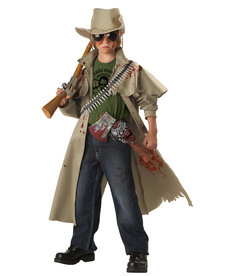 California Costumes Kids Zombie Hunter Costume