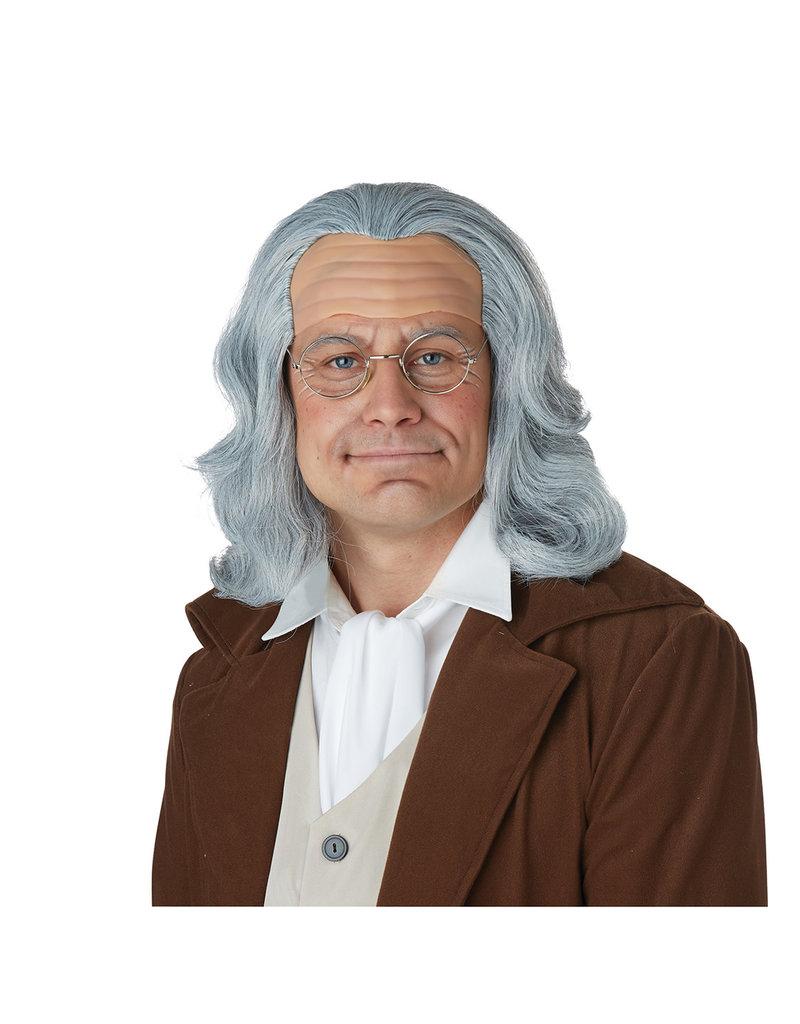 California Costumes Benjamin Franklin Wig