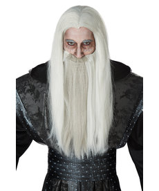 California Costumes Adult Dark Wizard Wig