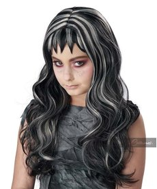 California Costumes Girl's Gothic Streaks Wig