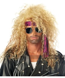 California Costumes Heavy Metal Rocker Wig