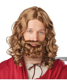California Costumes Jesus Wig & Beard