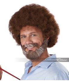 California Costumes Joyful Painter: Wig, Beard & Moustache