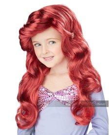 California Costumes Lil' Mermaid Wig: Child Size