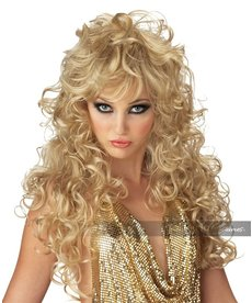 California Costumes Seduction Wig: Blonde