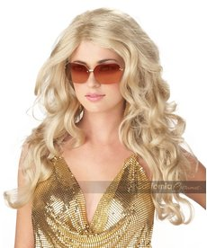 California Costumes Sexy Super Model Wig: Blonde
