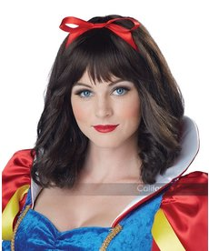 California Costumes Adult Snow White Wig