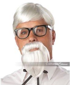 California Costumes The Colonel: Wig, Beard, & Mustache