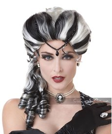 California Costumes Adult Victorian Wig with Side Curls