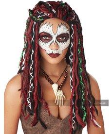 California Costumes Adult VooDoo Priestess Wig