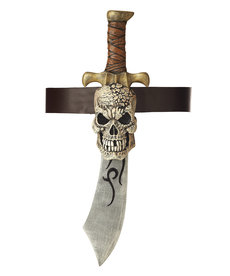 California Costumes Pirate Sword with Skull Sheath