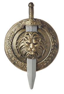 "California Costumes 12"" Gladiator Combat Shield & Sword"
