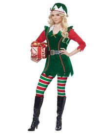 California Costumes Festive Elf: Adult Costume