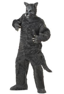 California Costumes Men's Plus Size Big Bad Wolf Costume
