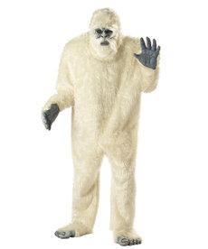 California Costumes Men's Plus Size Abominable Snowman Costume