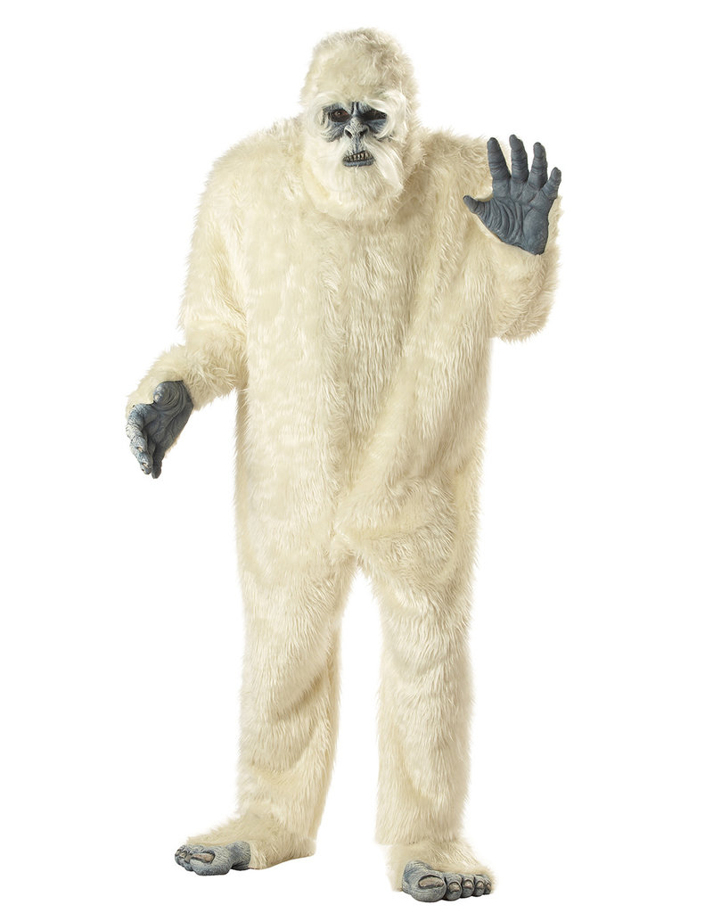 California Costumes Men's Plus Size Abominable Snowman Costume