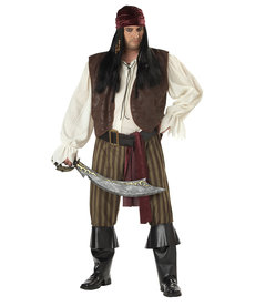 California Costumes Plus Size Rogue Pirate Costume