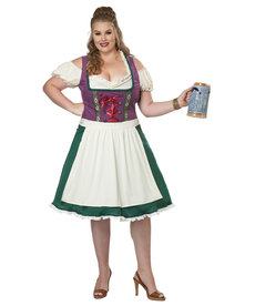California Costumes Women's Plus Size Bavarian Beer Maid Costume