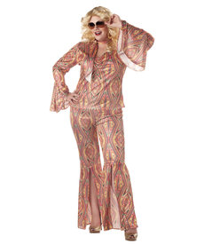 California Costumes Women's Plus Size Discolicious Costume