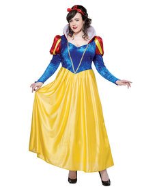 California Costumes Women's Plus Size Snow White Costume
