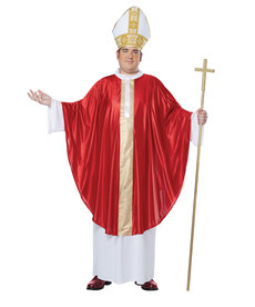 California Costumes Adult Plus Size The Pope Costume