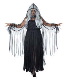 California Costumes Women's Plus Size Vengeful Spirit Costume