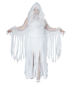 California Costumes Women's Plus Size Ghostly Spirit Costume