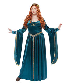 California Costumes Women's Plus Size Lady Guinevere Costume
