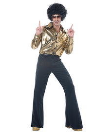 California Costumes Plus Size Disco King Costume