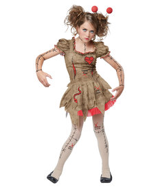 California Costumes Teen Voodoo Dolly Costume
