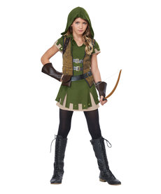 California Costumes Teen Miss Robin Hood Costume
