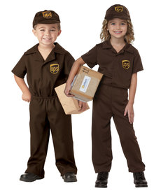 California Costumes Toddler UPS Driver Costume