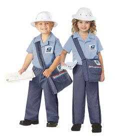 California Costumes Toddler U.S. Mail Carrier Costume